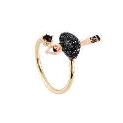 Bagues Ajustables Bague Ajustable Mini Ballerine En Tutu Noir60,00€ AFMDD601/5Les Néréides