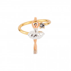 Adjustable Ring With Mini...