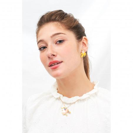 Necklace 70cm La Diamantine light honey