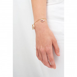 Bracelets Bracelet Pampilles Carlin Charmeur, Bubble Tea Et Petit Cœur