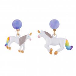 Boucles D'oreilles Originales Boucles D'oreilles Licorne40,00€ AFUN102T/1N2 by Les Néréides