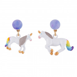 Earrings With Unicorn