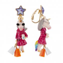 Boucles D'oreilles Boucles D'oreilles Clip Licorne Fashion60,00€ AFUN104C/1N2 by Les Néréides