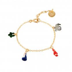 Bracelets Bracelet Mutli Personnages Du Petit Chaperon Rouge49,00€ AECR202/1N2 by Les Néréides