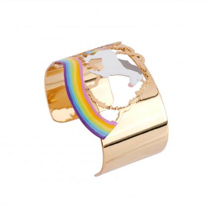Bracelets Manchette Licorne Galopant Sur Arc-en-ciel70,00€ AFUN201/1N2 by Les Néréides