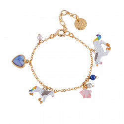Bracelet With Unicorn And...