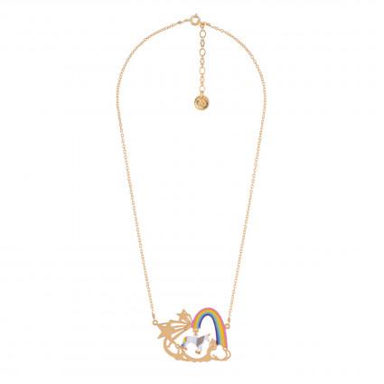 7180cda74159 Collar Unicornio Y Arcoíris