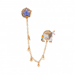 Pin With Unicorn And Star