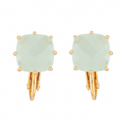 Boucles D'oreilles Clip Clip Earrings La Diamantine Square Stone Green50,00 € XLD101C/1Les Néréides