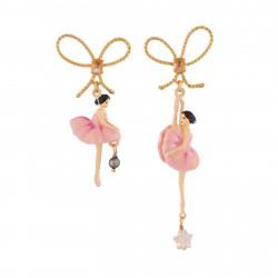 Boucles D'oreilles Pendantes Boucles D'oreille Ballerines Sur Pointe Rose90,00€ RDD108T/4Les Néréides