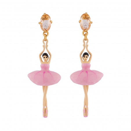 Clip earrings Paris mon amour pendants