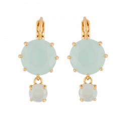 Boucles D'oreilles Dormeuses Boucles D'oreilles La Diamantine 2 Pierres60,00€ XLD126D/1Les Néréides