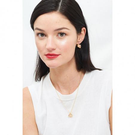 Pas de Deux simple necklace blue