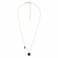 Colliers Pendentifs Collier Chaine Fine Avec Onyx Et Strass Asymétrique130,00€ AJPF303/1Les Néréides