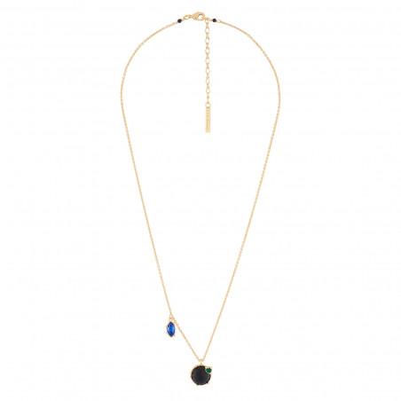Pas de Deux asymetric earrings blue