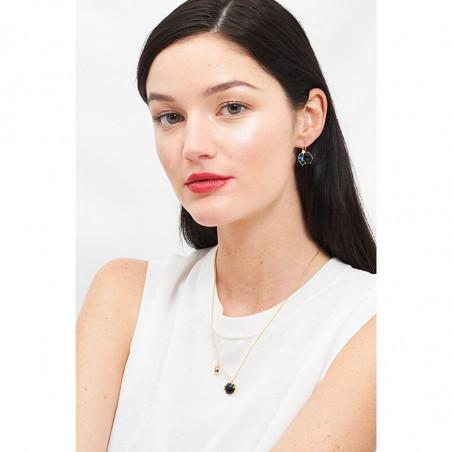 Pas de Deux asymetric earrings yellow