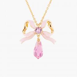 Ribbon And Pink Crystal...