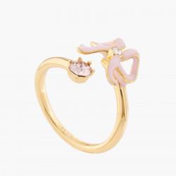 Ribbon And Crystal Pink...