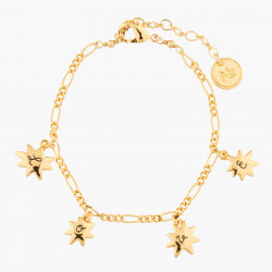 Star And Love Charm Bracelet