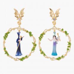 Fairies Asymetrical Clip-on...