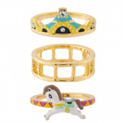 3 Bands Carousel Ring