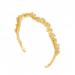 Laurel Leaves Bangle Bracelet