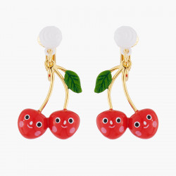 Smiling Cherries Clip-on...