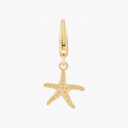 Golden Starfish Charms