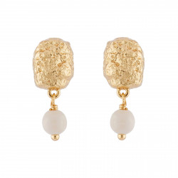 Gold Nugget And Small Pearl...