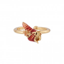 Adjustable Ring Shel And...