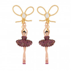 Earrings With Bow And...