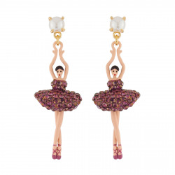Earrings Ballerina With...