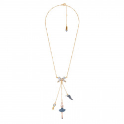 Necklace With Ballerina...