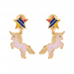 Girly Unicorn Clip-on Earrings