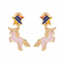 Girly Unicorn Clip-on Earrings