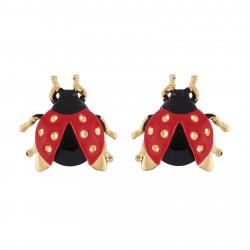 Earrings Ladybug With...