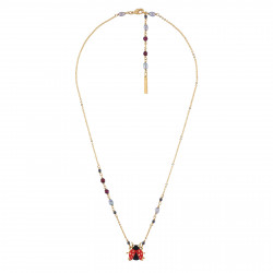 Necklace Ladybug With...