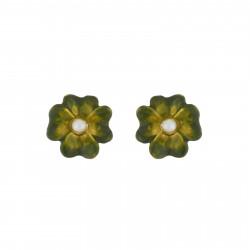 Small Clover Earrings