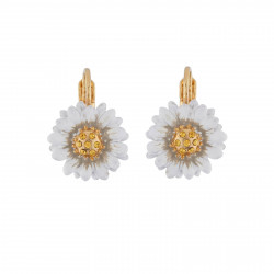 Small Daisy Dormeuses Earrings