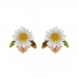 Daisy On Faceted Glass...