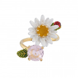 Adjustable Ring Daisy And...