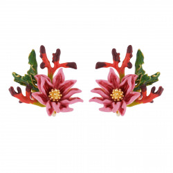 Clip-on Earrings Pink...