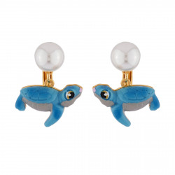 Clip-on Earrings Small Turtle