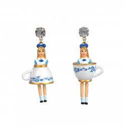Earrings Alice Wearing Her...