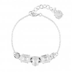 5 Silver Crystal Stones...