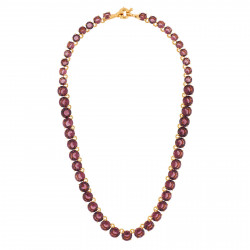De Luxe Choker With Round...