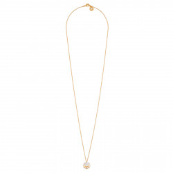 Long Necklace With Round...