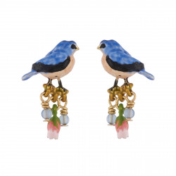 Small Chickadee Earrings