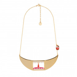 Collar Necklace With Little...