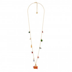 Long Necklace Multi...